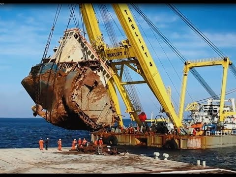 Smit Salvage  & Megatugs - The wreck removal of the M/V Cabrera