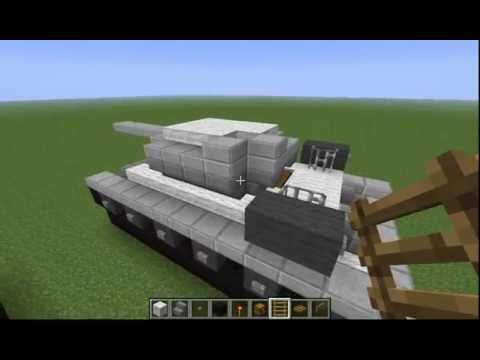 minecraft como hacer un T-34/85
