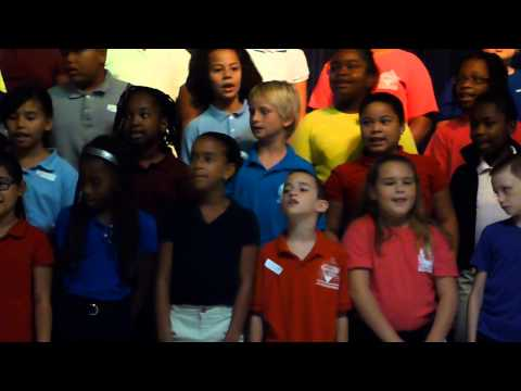 JP Donuts With Dad Diamond View Elementary School Chorus - I'd Like to Teach The World to Sing