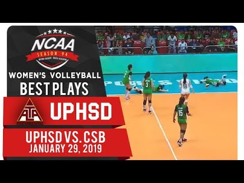 NCAA 94 WV Final Four: Cindy Imbo stuns CSB's defense with smart push! | UPHSD | Best Plays