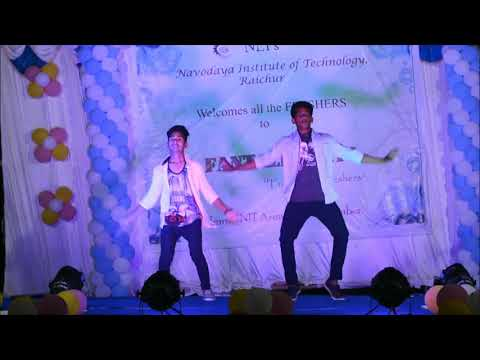 Navadaya institution technology raichur ll freshers party 2k17-18
