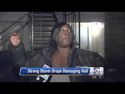 'Kabooyow Lady', Michelle Clark, Describes Hail Storm On Local News In Houston 'Hilarious Video'