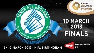 Finals WD Wang X Yu Y vs Cheng S Zhao Y 2013 Yonex All England