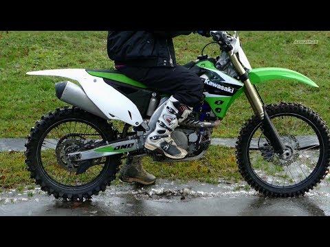 Kawasaki KX450F - My First Start