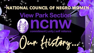 The History of NCNW View Park Section of Los Angeles