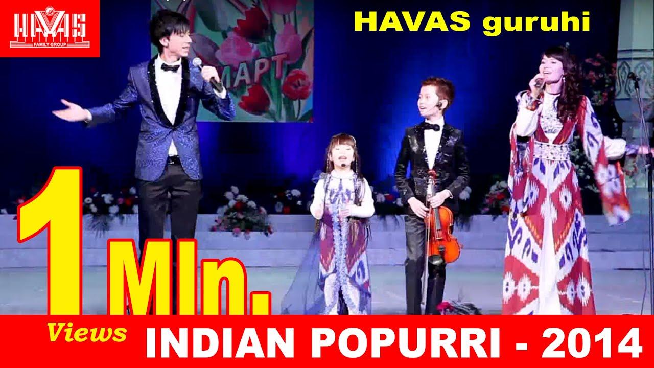 havas guruhi indian popurri uzbekistan youtube