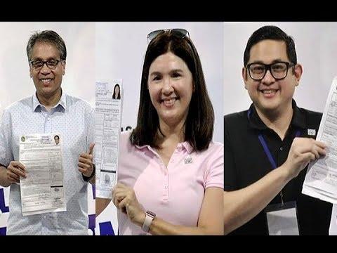 #UNTVpollwatch2019: Mar Roxas, Pia Cayetano, Bam Aquino COC filing