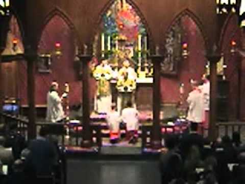 Anglican Use Liturgy, Our Lady of the Atonement, San Antonio Texas.