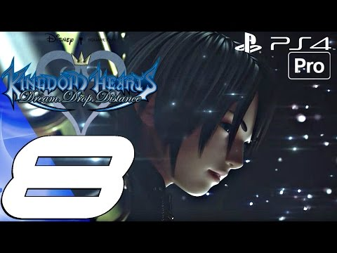 Kingdom Hearts Dream Drop Distance HD - Gameplay Walkthrough Part 8 - World That Never Was (PS4 PRO)
