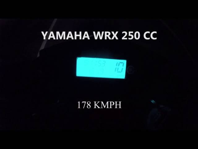 Yamaha WR250X Top speed - Kandy - TravelerBase - Traveling Tips ...