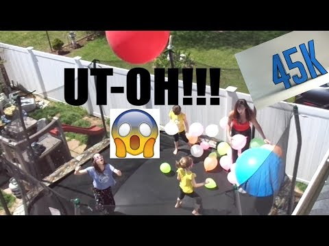 45,000 SUBSCRIBERS VS. 45 BALLOONS - WHAT COULD GO WRONG?