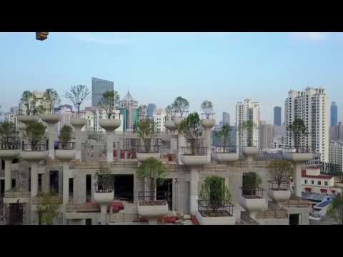 Heatherwick Studio Releases Video Showing Construction of 1000 Trees Project in Shanghai