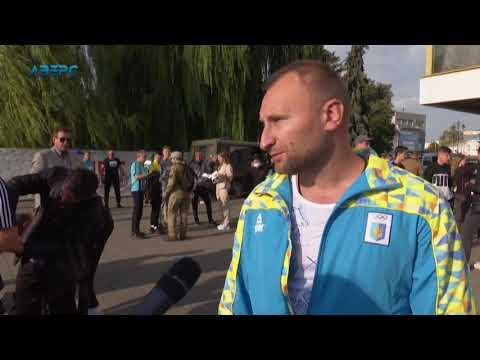 ТРК Аверс: У Луцьку відбувся патріотичний забіг «Біжу за героя»