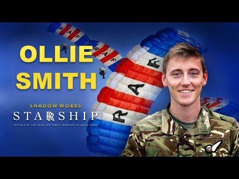 Introducing Flight Lieutenant Ollie Smith | RAF Training Officer For STARRSHIP