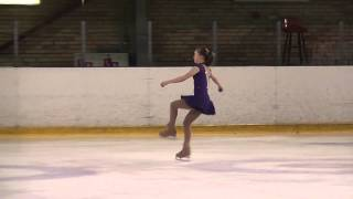 USTINOVA Alina, LAT, Advanced Novice Girls SP