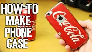 How To Make Coca Cola Phone Case
