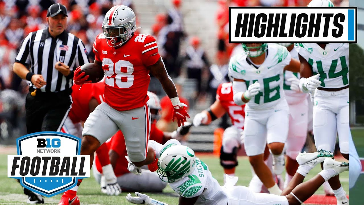 Football: Oregon at Ohio State | Buckeyes vs. Ducks in Top 15 Tilt | Sept. 11, 2021 | Highlights