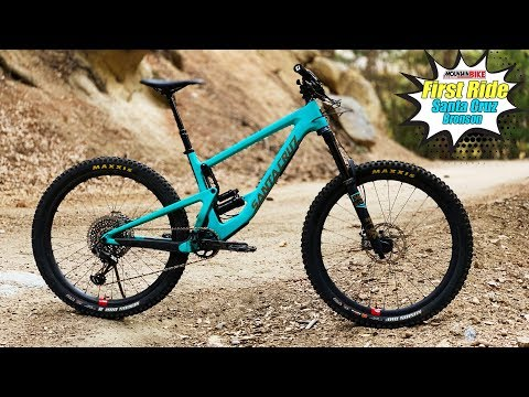 First Ride Santa Cruz Bronson - Mountain Bike Action Magazine