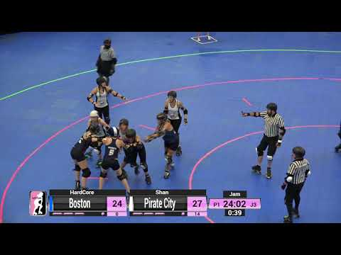 WFTDA Roller Derby - Division 2, Pittsburgh - Game 8  - Boston vs. Pirate City
