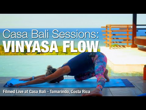 Vinyasa Flow Yoga Class - Casa Bali Sessions - Five Parks Yoga