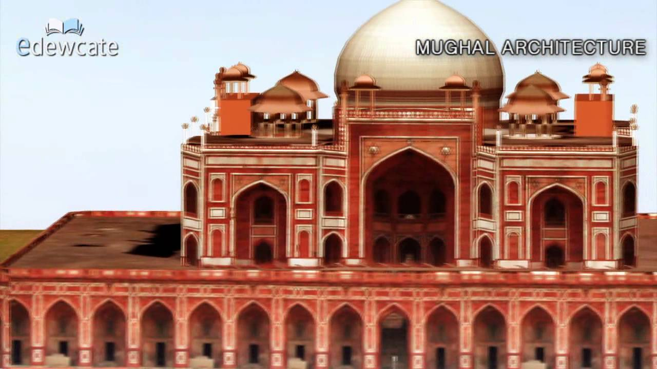 mughal architecture youtube