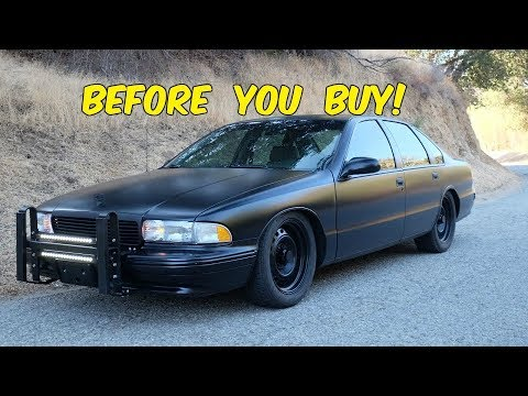 Watch This BEFORE You Buy a Chevy Caprice SS 9C1
