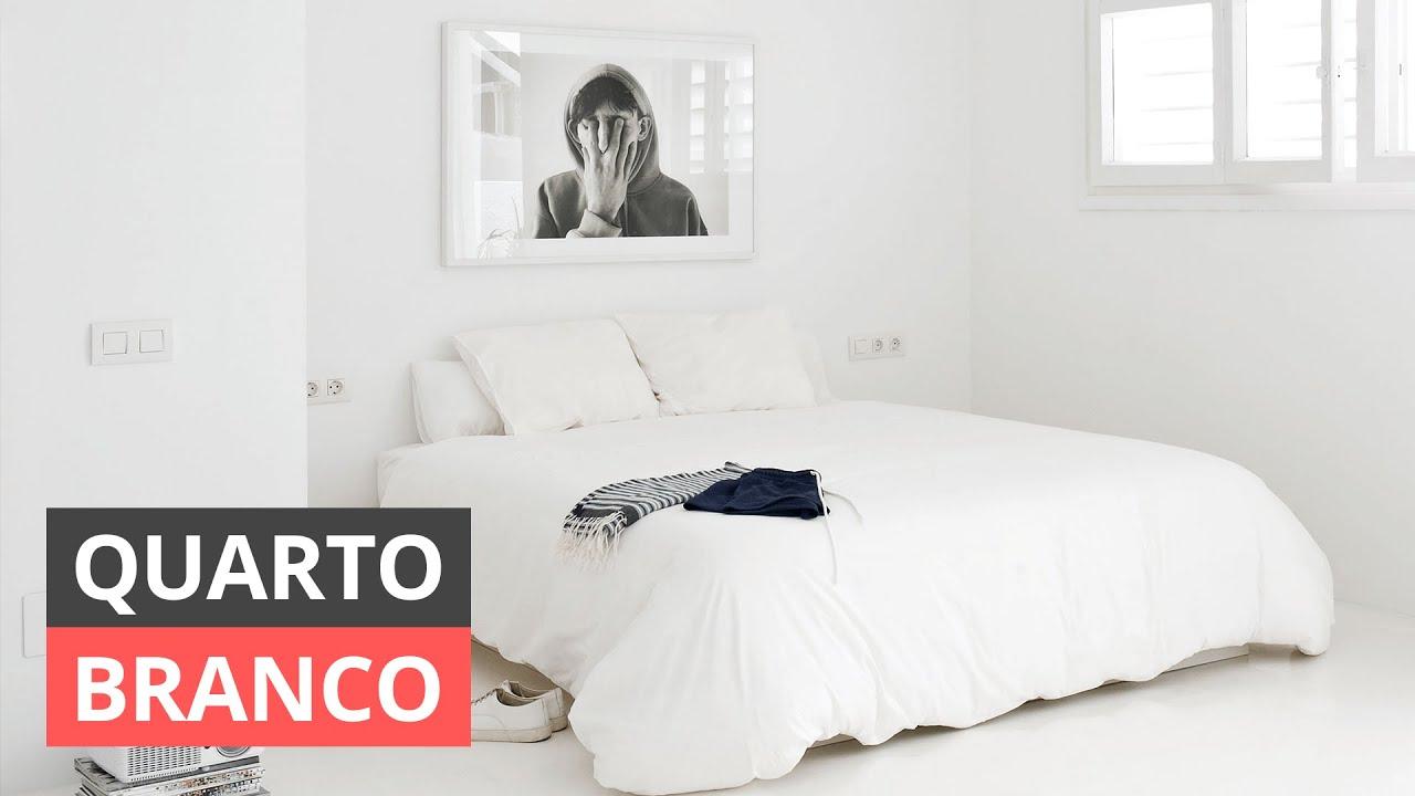 QUARTO BRANCO - VEJA DICAS DE COMO DECORAR