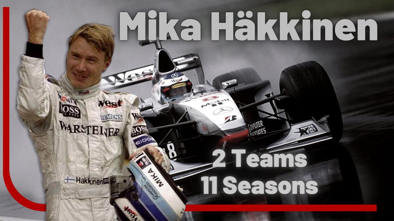 Mika Hakkinen Career Timelapse