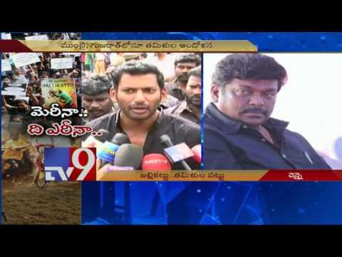 Jallikattu - Tamil Nadu speaks in one voice against ban - TV9