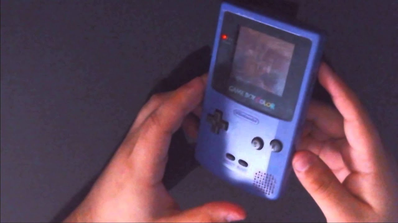 Purple Nintendo Gameboy Color From 1998
