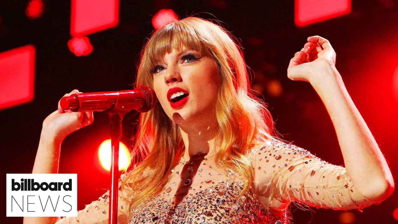 Taylor Swift Announces 'Red' As Next Album She's Re-Recording | Billboard News