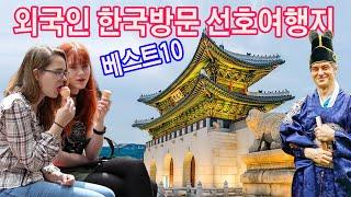 외국인 한국관광 방문시 가장 많이 선호하는 한국추천여행…