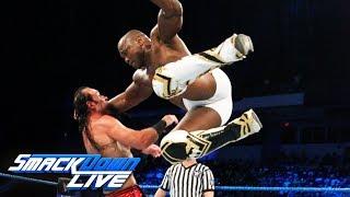 Shelton Benjamin Chad Gable vs. The Ascension SmackDown LIVE, Aug. 29, 2017
