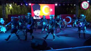 7. Kültür ve Sanat Şenliği 1.Gün- Denizli Yöresi Halk Oyunları Gösterisi