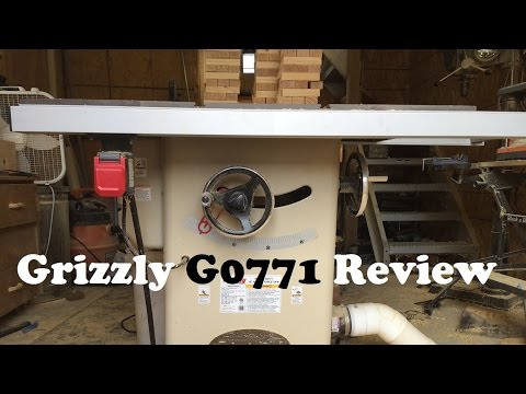Grizzly G0771 Review Youtube