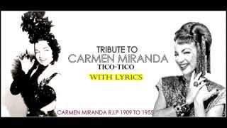 Watch Carmen Miranda TicoTico No Fuba video