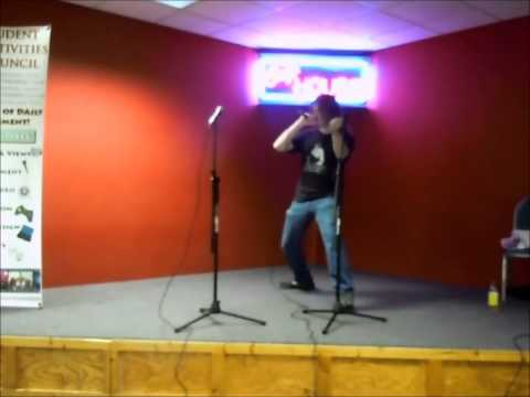 Engineering Student Covers Death Metal at Campus Karaoke Stage