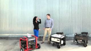 видео Бензиновый генератор для дома