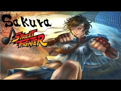 Street Fighter - Sakura's theme I Want You To Know (Music)