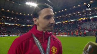 Zlatan Ibrahimovic interview - After Europa League trophy - ENGLISH SUBTITLES