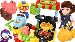 Kongsooni Coding Taiyaki Shop! Buy delicious taiyaki bread with Baby Shark Pinkfong~ | PinkyPopTOY