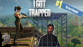 Getting Embarrassed! Trapped To Death? -Fortnite Battle Royale-