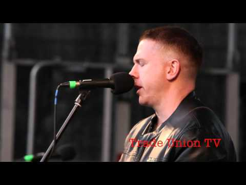 #Reclaim1916 Damien Dempsey sings 'James Connolly''