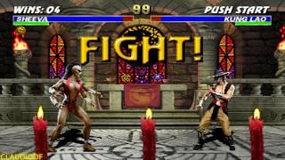 Mortal Kombat 3 (Arcade) - SHEEVA【TAS】