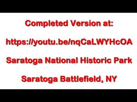 Saratoga Battlefield Bemis Heights - June 21, 2016 - Travels With Phil
