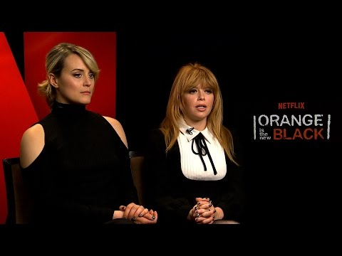 Interview with Taylor Schilling & Natasha Lyonne for Season 5 of Orange Is The New Black