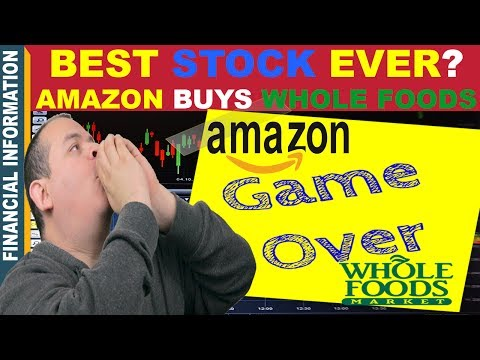 Amazon buys Whole Foods🤑 | Best Stock Ever?🤔