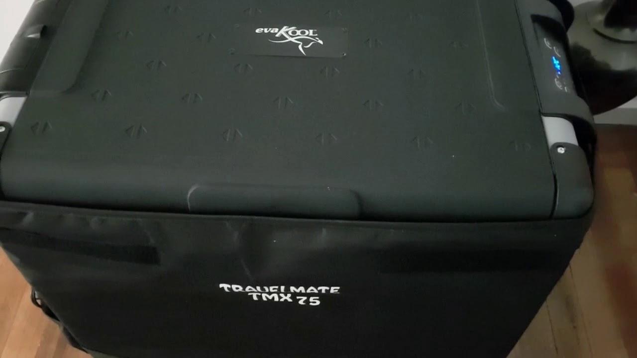 Evakool TMX Travelmate 80 Litre Fridge Freezer Pack Product Review