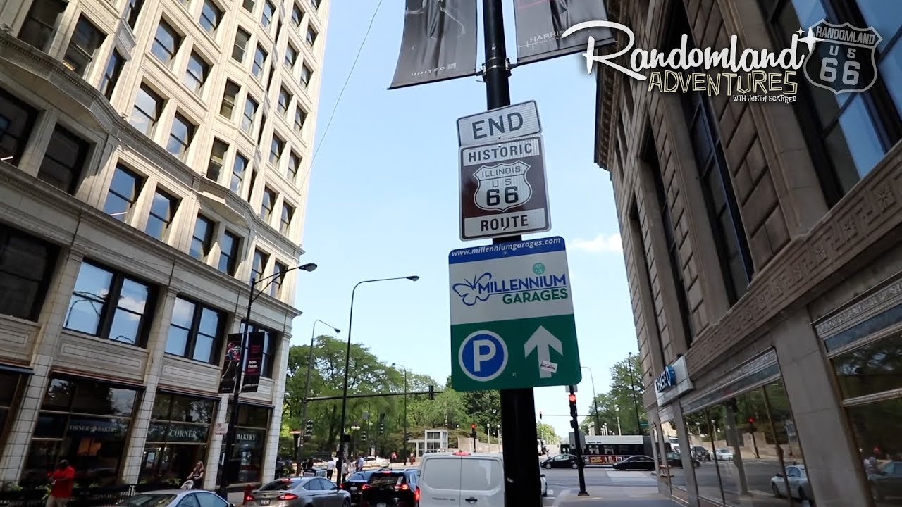 The End Of Route 66 Chicago At Last Youtube