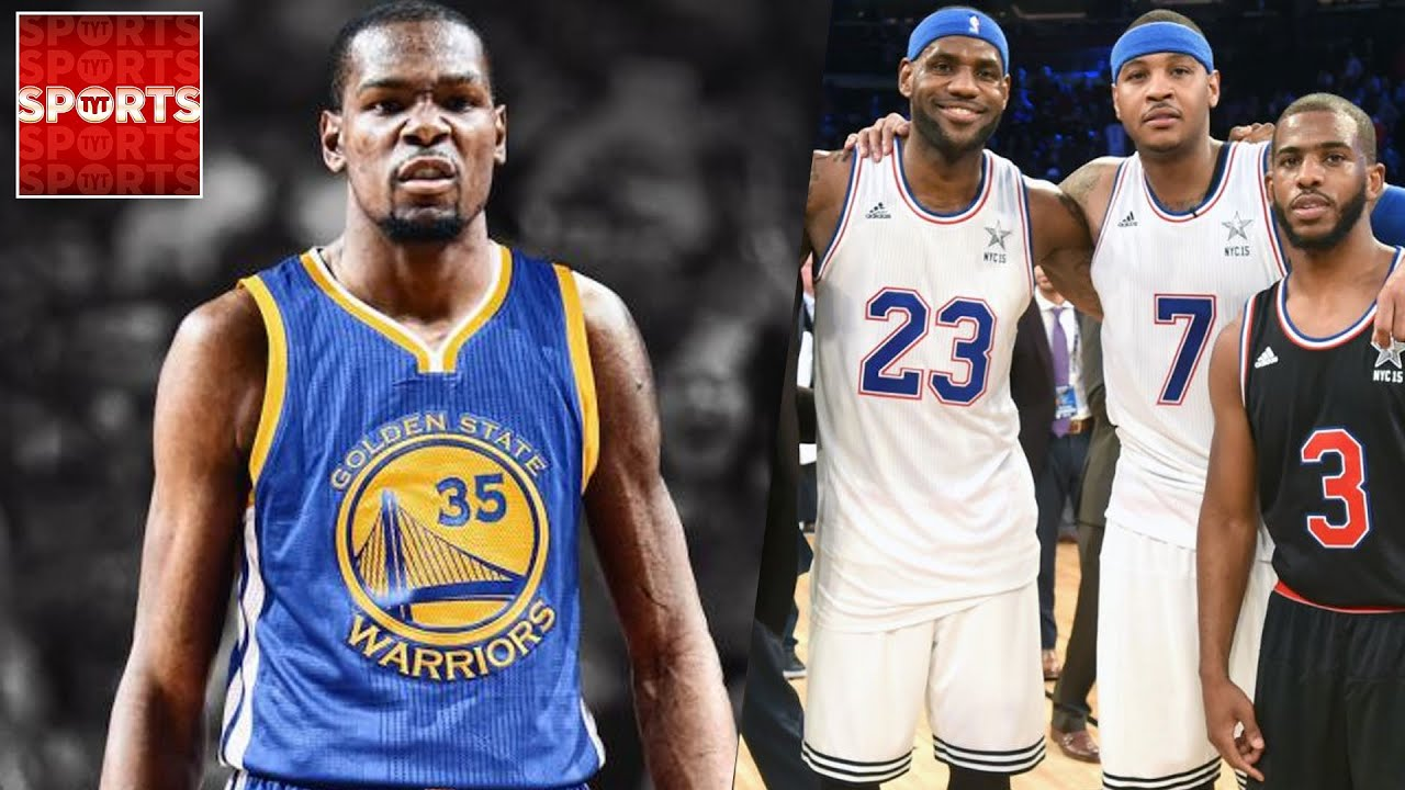 Warriors With KEVIN DURANT Vs LeBron James SUPER TEAM NBA 2k What If